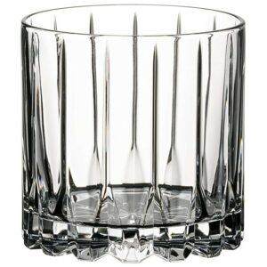最好的威士忌眼镜选项:Riedel饮料特定玻璃器皿摇滚玻璃,9盎司