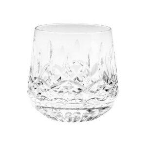 最佳威士忌酒杯选择:沃特福德水晶利斯莫尔9盎司眼镜,一套4个