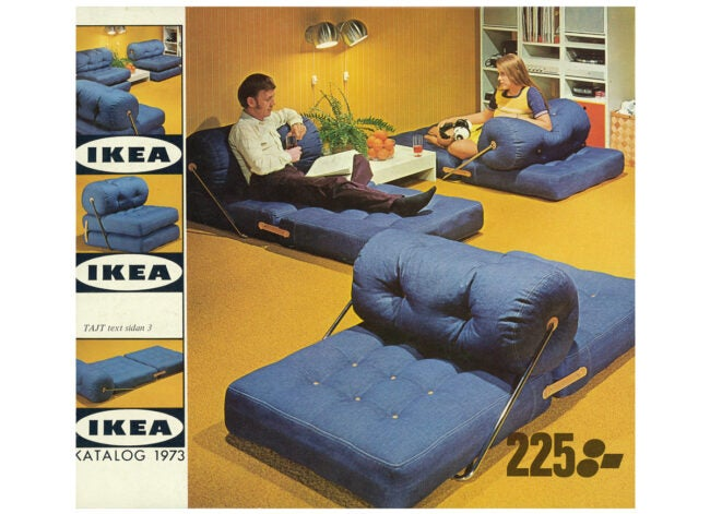 IKEA catalog from 1973