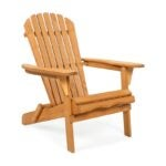 The Best Adirondack Chair Option: Best Choice Products Folding Wooden Adirondack