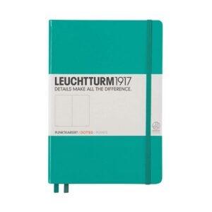 The Best Bullet Journal Option: Leuchtturm1917 Medium A5 Dotted Hardcover Notebook