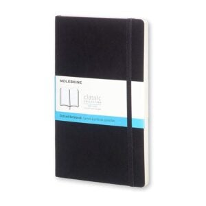 The Best Bullet Journal Option: Moleskine Classic Notebook, Soft Cover, Large Dotted