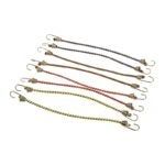 The Best Bungee Cords Option: KEEPER 06052 10-Inch Mini Bungee Cord