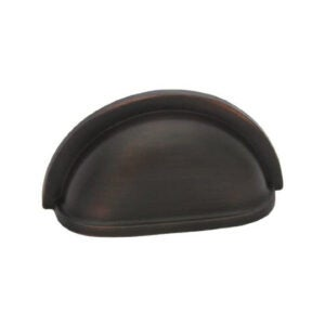 The Best Cabinet Hardware Option: Cosmas Oil Rubbed Bronze Cabinet Hardware Bin Cup