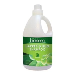 最好的地毯洗发水选项:Biokleen Natural Carpet Cleaner和Rug Shampoo