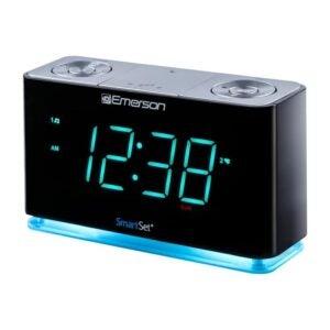 最好的时钟无线电选项:艾默生智能集闹钟无线电