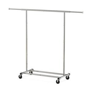 The Best Clothes Rack Option: Simple Houseware Heavy Duty Clothing Garment Rack