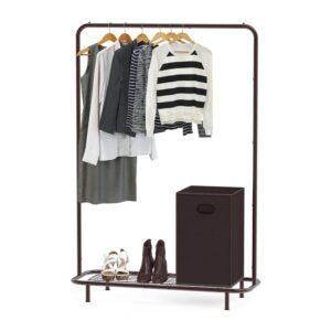 The Best Clothes Rack Option: Simple Houseware Industrial Pipe Clothing Garment
