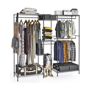 The Best Clothes Rack Option: VIPEK 5 Tiers Wire Garment Rack