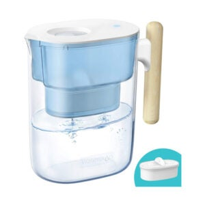 The Best Countertop Water Filter Option: Waterdrop Chubby 10-Cup Water Filter Pitcher