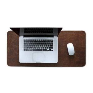最佳桌面垫选择:伦敦皮革扩展鼠标垫