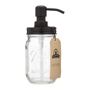 The Best Dish Soap Dispenser Option: Jarmazing Products Mason Jar Soap Dispenser