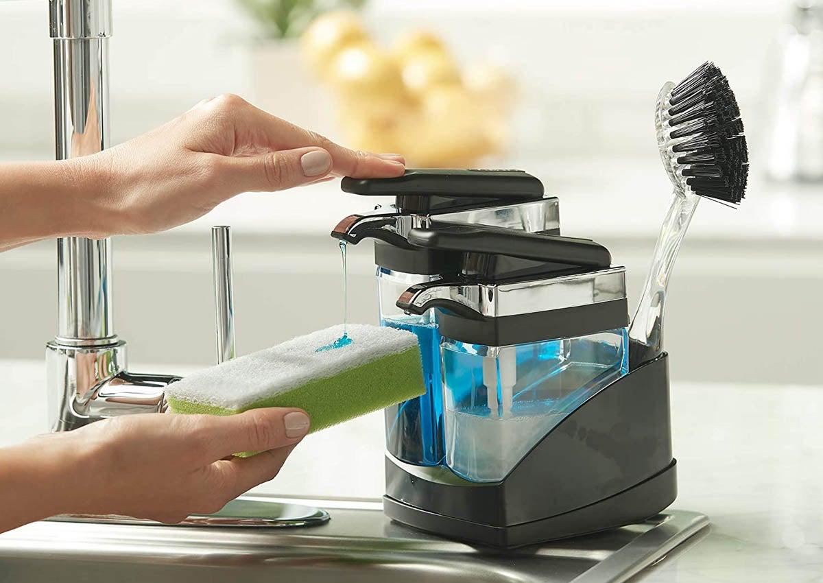 The Best Dish Soap Dispenser Options For The Kitchen Sink Bob Vila