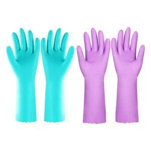 最好的洗碗手套选项:elgood可重复使用的洗碗机清洁手套