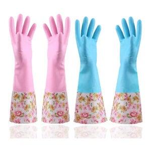最佳洗碗手套选择:KINGFINGER橡胶乳胶防水洗碗手套