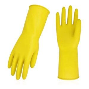最佳洗碗手套选择:Vgo 10双可重复使用的家用手套