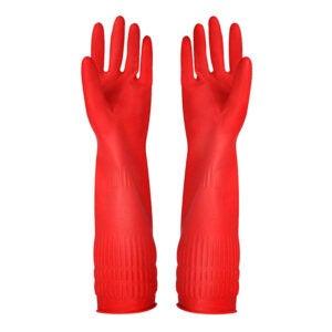 最好的洗碗手套选择:YSLON橡胶清洁手套
