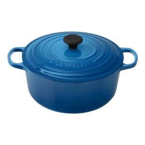 最佳荷兰烤箱选择:Le Creuset搪瓷铸铁荷兰烤箱,7.25 qt。