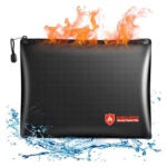 最佳防火文件包选项:PMOOKO 14X10防火文件存储袋
