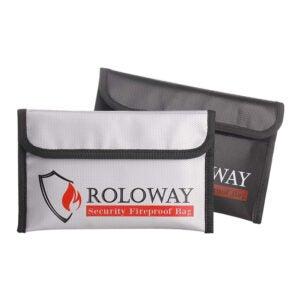 最好的防火文件包选项:罗沃伊小防火钱钱包袋