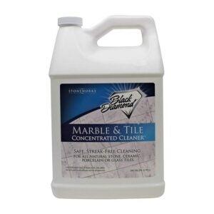 The Best Floor Cleaner Option: Black Diamond MARBLE & TILE FLOOR CLEANER