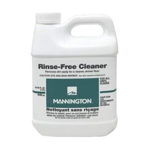 The Best Floor Cleaner Option: Mannington Rinse-Free Cleaner