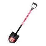 The Best Gardening Tool Option: Bully Tools Round Point Shovel with Fiberglass Handle