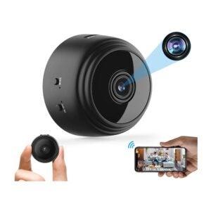 The Best Hidden Camera Option: Elleety Mini Hidden Spy Camera WiFi Wireless Camera
