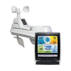 最佳家庭气象站选项:AcuRite 01512家庭气象站5合一天气传感器