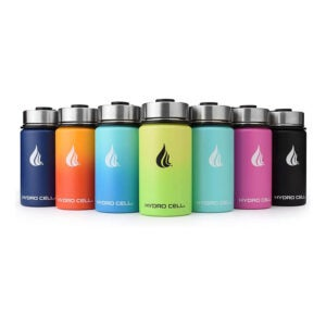 The Best Insulated Water Bottle Option: HYDRO CELL Stainless Steel Water Bottle w Straw