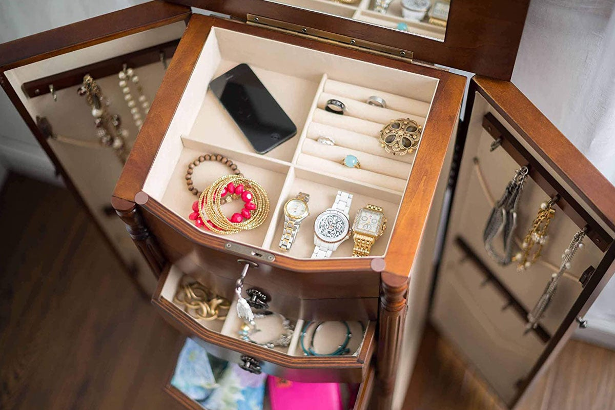 The Best Jewelry Organizer And Stand Options In 2021 Bob Vila