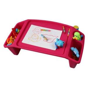 The Best Lap Desk for Kids Option: Basicwise QI003253P Kids Lap Desk Tray, Portable