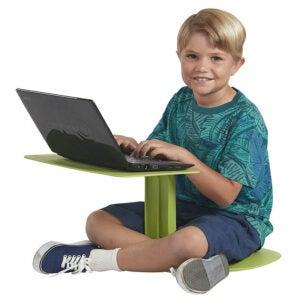 The Best Lap Desk for Kids Option: ECR4Kids - ELR-15810-GN The Surf Portable Lap Desk