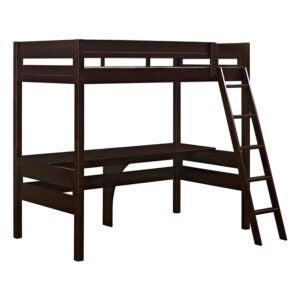 The Best Loft Bed Option: Dorel Living Harlan Wood Loft Bed