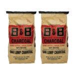 The Best Lump Charcoal Option: B&B Oak Lump Charcoal