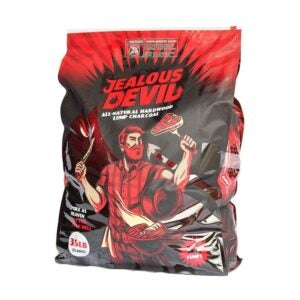 The Best Lump Charcoal Option: Jealous Devil All Natural Hardwood Lump Charcoal