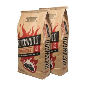 The Best Lump Charcoal Option: Rockwood All-Natural Hardwood Lump Charcoal