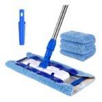 The Best Mop for Wood Floors Option: MR.SIGA Professional Microfiber Mop