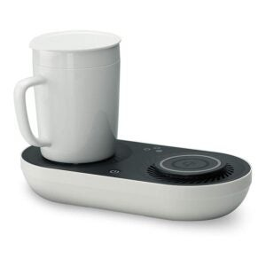 The Best Mug Warmer Option: Wireless Qi-Certified Fast Charger with Mug Warmer