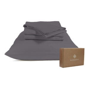 最佳有机床单选择:生物编织100%有机棉床单