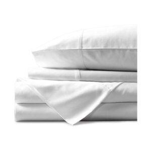 最好的有机片选项:Mayfair亚麻100%埃及棉床单
