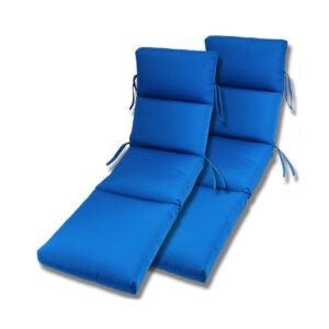 The Best Outdoor Cushion Option: Comfort Classics Inc. Set of Sunbrella Chaise Cushion