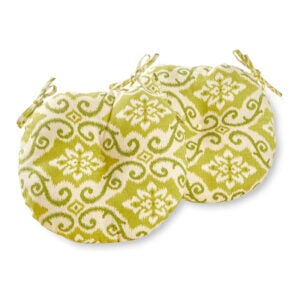 The Best Outdoor Cushion Option: Greendale Home Fashions Outdoor Bistro Seat Cushion