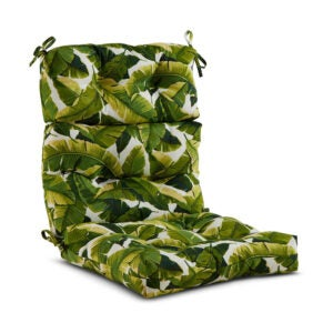 The Best Outdoor Cushion Option: Greendale Home Fashions Outdoor Chair Cushion