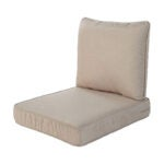 The Best Outdoor Cushion Option: Quality Outdoor Living Deep Seating Chair Cushion