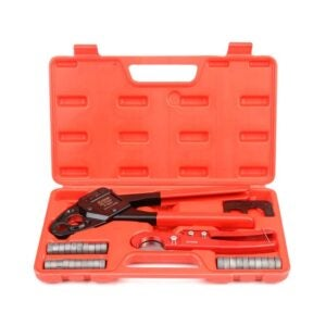 The Best PEX Crimp Tool Option: IWISS Angle Head F1807 PEX Pipe Crimping Tool