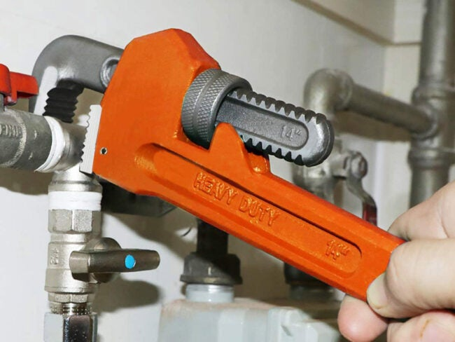 The Best Pipe Wrench Options