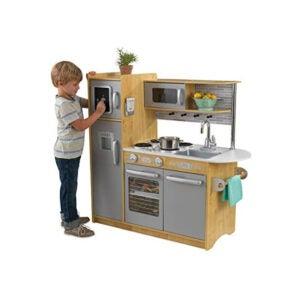 The Best Play Kitchen Option: KidKraft 53298 Uptown Natural Kitchen