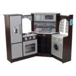 The Best Play Kitchen Option: KidKraft Ultimate Corner Play Kitchen