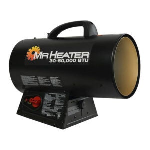 The Best Propane Heater Option: Mr. Heater 60,000-BTU Portable Propane Heater